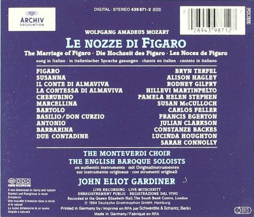 Mozart: Le nozze di Figaro by Archiv Produktion