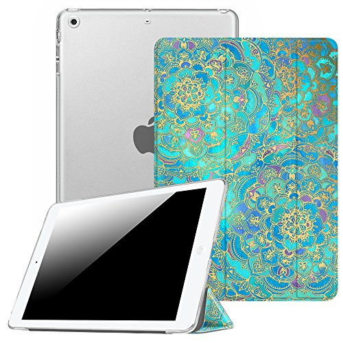 Fintie Case for iPad Mini 3 / 2 / 1 - Lightweight Smart Slim Shell Translucent Frosted Back Cover Protector Supports Auto Wake / Sleep for Apple iPad Mini 1 - Shades Slim