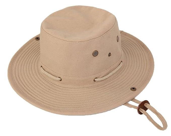Hawkins Nella Safari Di Uomo Tela Cappello Da 1ASrqU1