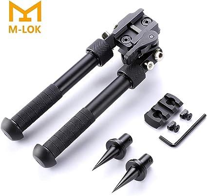 M-LOK Bipod Mount Aluminum Handguard Adapter Plate Outdoor Hunting Accessories