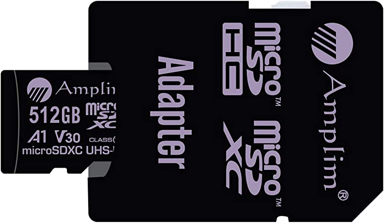 512gb 100mb S Micro Sd Card With Sd Adapter Amplim 512 Computers Accessories