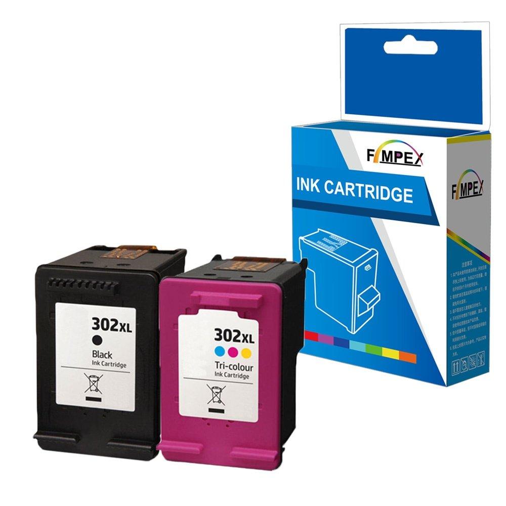 Fimpex Remanufacturado Tinta Cartucho Reemplazo para HP Deskjet 1110 Deskjet 2130 AiO 2132 AiO 2134 AiO 3630 AiO 3632 AiO 3634 AiO 3636 AiO 3637 AiO ...