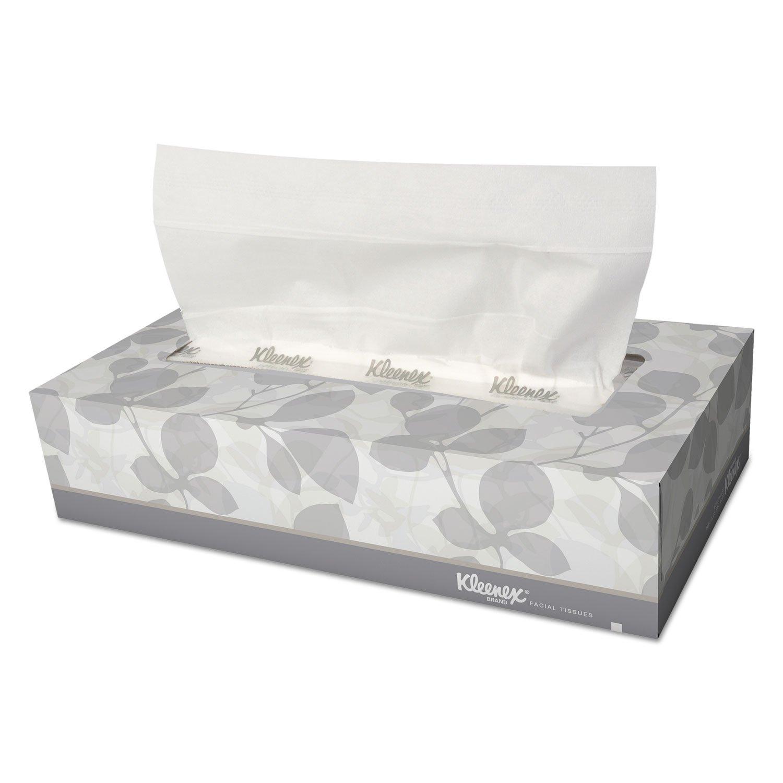 Kimberly-Clark Professional KLEENEX Facial Tissue in Pop-Up Dispenser, 125 per Box, 48 Boxes per Carton (21606CT) by Kimberly-Clark Professional