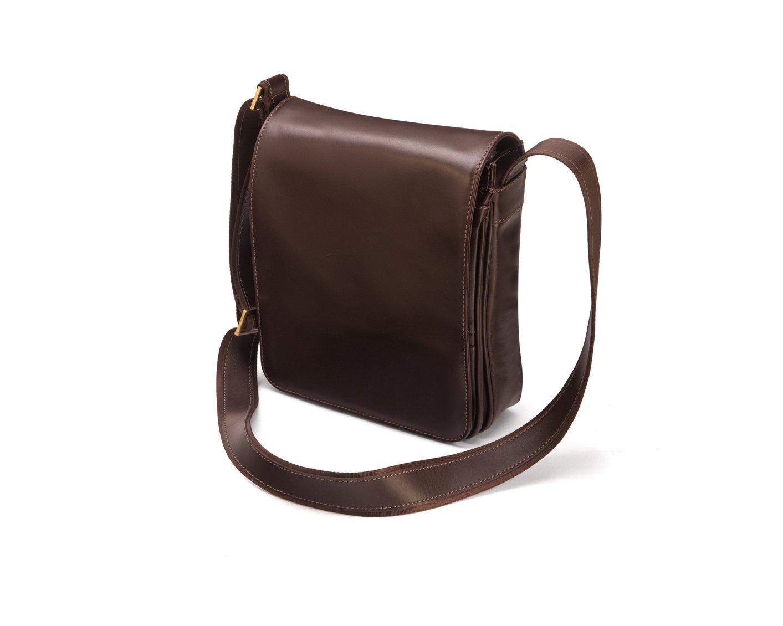 SAGEBROWN Brown Small Messenger Bag