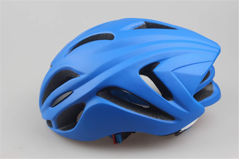 Fahrradhelm Helm,Multi-Belüftung, Atmungsaktiv, bequem, Einstellbarer Größe, Einteiliger Schutzhelm