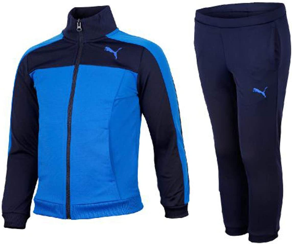 Puma - Style Tricot Suit, Color Azul, Talla 5-6 Years: Amazon.es ...