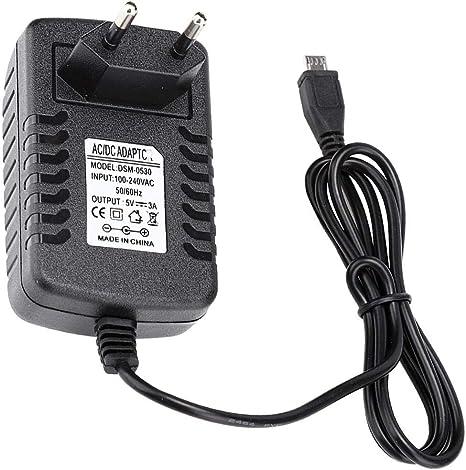 5V 3A Micro USB Cargador Adaptador De Fuente De Alimentación Interruptor On//Off para Raspberry rduk