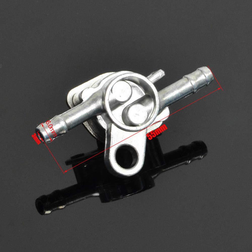 Grifo de Combustible de Gasolina de Encendido//Apagado de Aluminio longyitrade 1 Interruptor de Grifo de Combustible para Motocicleta Accesorios de veh/ículo