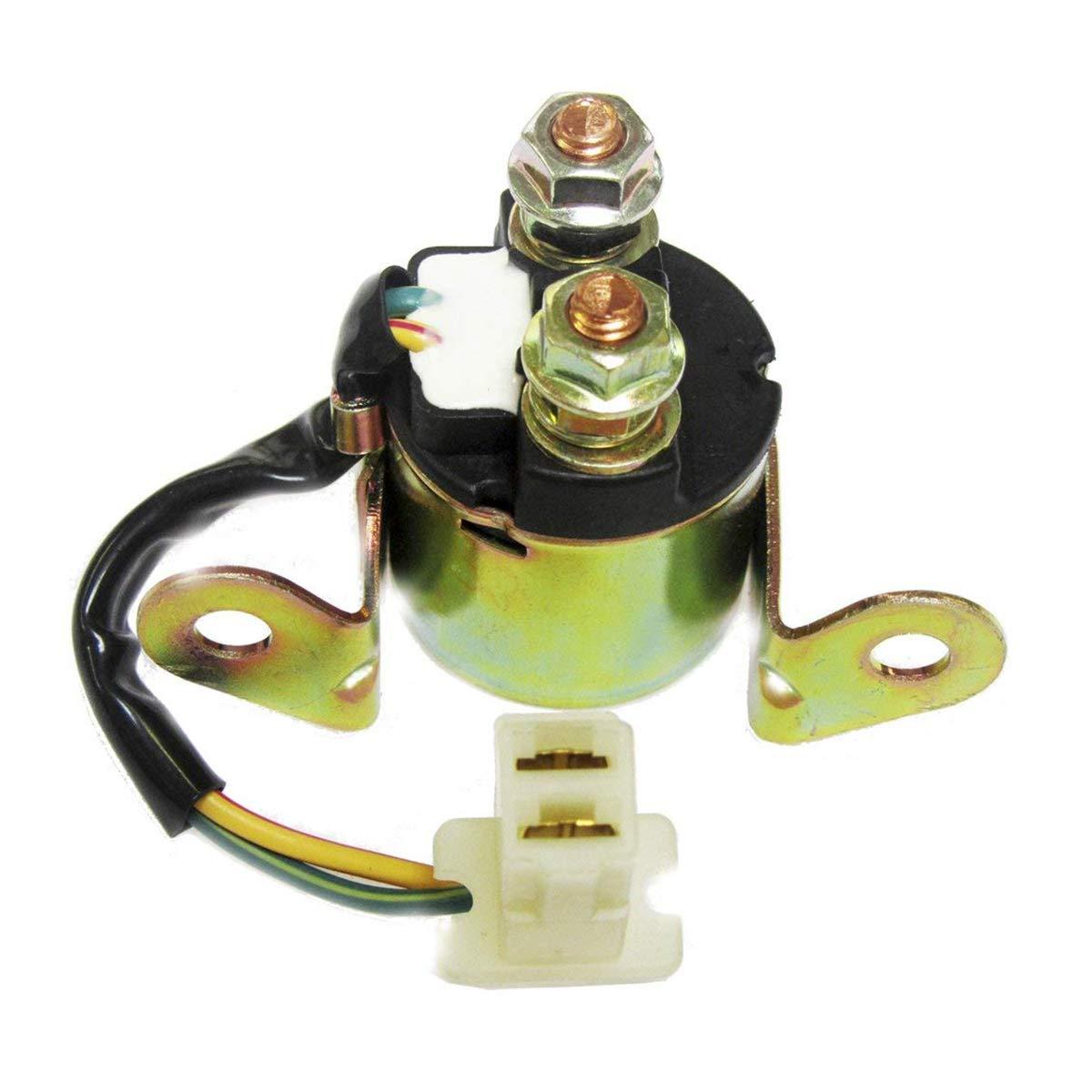 Starter Solenoid Relay Fits for Suzuki DR200SE GR650 DR200S DR125SE VS800 VS800GL VX800 VS700GLP VS750GLP 1994-2009 Motorcycle 31800-15501 31800-15500 31800-31300