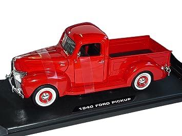 Pick UpRouge1940Voiture Montée Déjà MiniatureMiniature Ford XZPTuwkiO