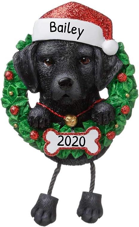 """Personalized /"""" LABRADOR RETRIEVER /"""" Christmas Hanging Tree Ornament HOLIDAY 2020"""
