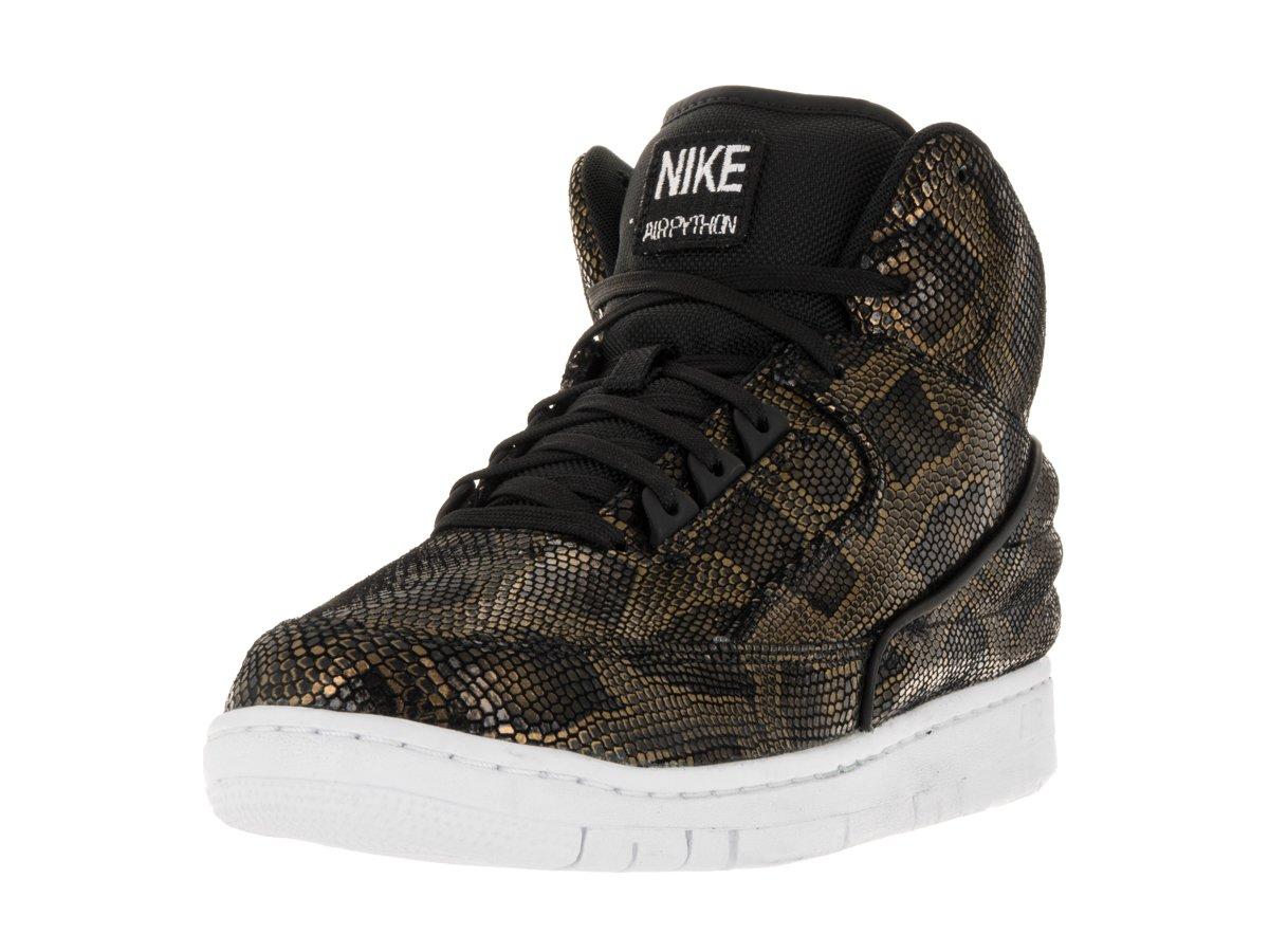 1562ff57743fb Galleon - Nike Men's Air Python Prm Black/White Basketball Shoe 9 Men US
