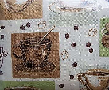 Mainstays U0026quot;Multi/Gourmet Coffeeu0026quot; Vinyl Tablecloth 60in X 102in  Rectangle