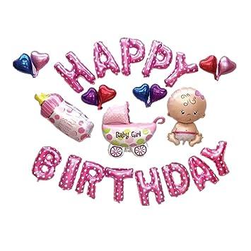 amazon com fully 24pcs set happy birthday 16 alphabet letters