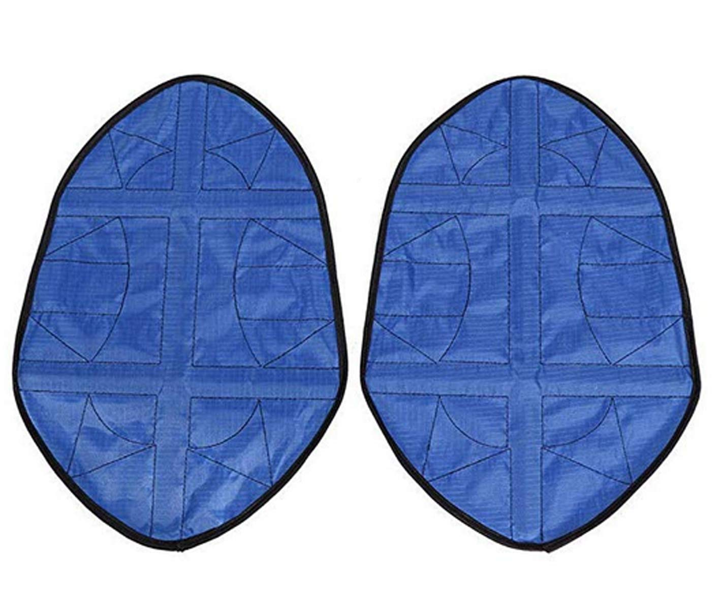 Handsfree Automatic Step In Sock Cover Lazy Shoes Covers Reusable One Step Portable Boot Covers (One Size, Blue)
