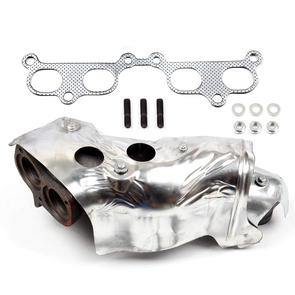 ECCPP Exhaust Manifold and Gasket Kit with Heat Shield for 94-00 Toyota 4Runner Tacoma T100 Truck 2.4L 2.7L