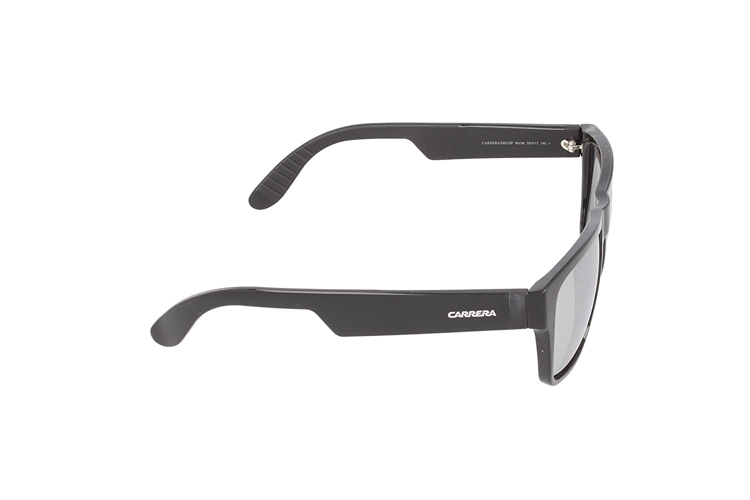 bbe41718f52c Amazon.com: Carrera Ca5002sps Wayfarer, Shiny Black & Matte Black, 55 mm:  Clothing