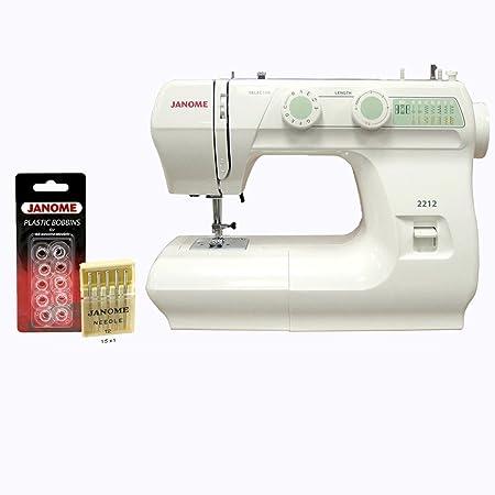 Janome 2212 12 Stitch Fullsize Freearm Sewing Machine 860spm Free