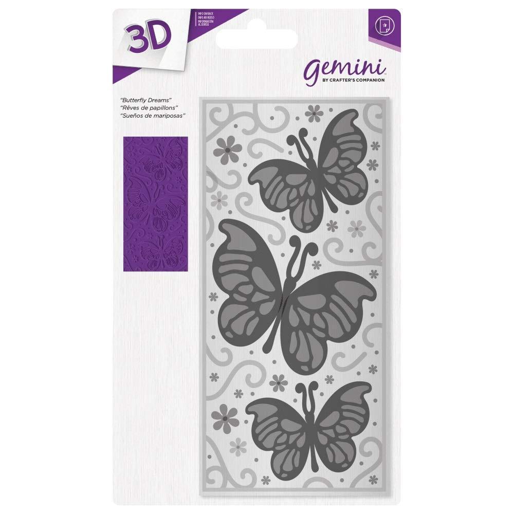 Gemini Crafter's Companion 3D 3D 3D Embossing Folder - Butterfly Dreams B07KMD9FZ5 | Hohe Sicherheit  d66bbf