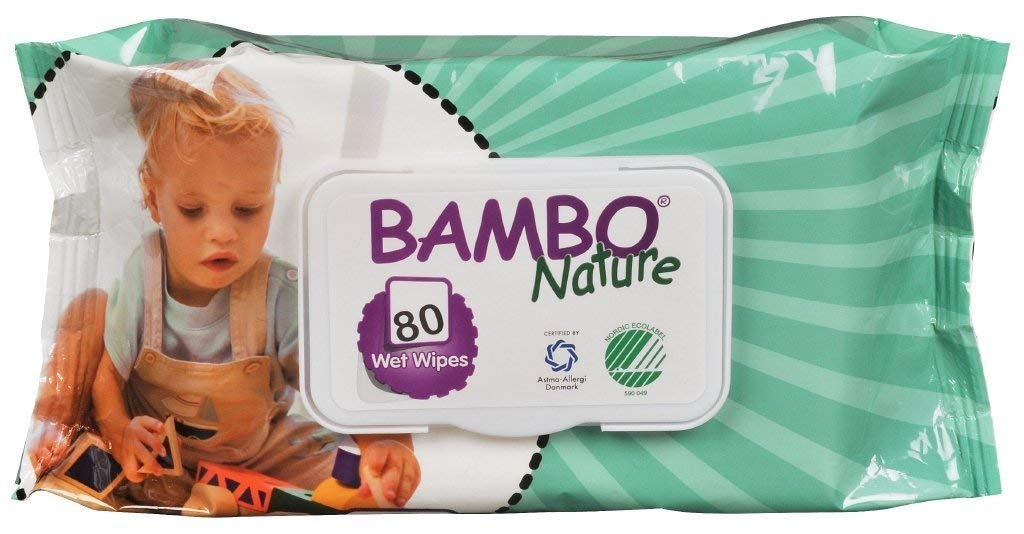 Bambo Nature   Baby Wipes   10 x 80s