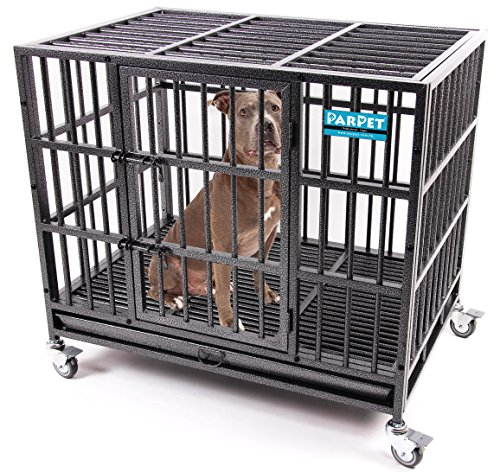 Top 10 best dog crate with wheels and tray: Which is the best one in 2019?