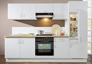 Bay Küchen Küchenzeile Malta Ideal Inkl Elektrogeräte Einbau