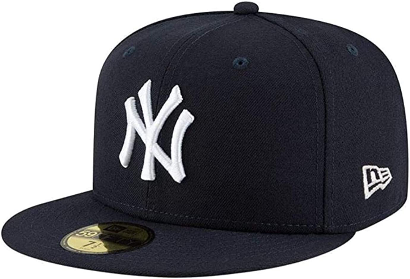 New Era Mens New York Yankees MLB Authentic Collection 59FIFTY Cap, Size 8 5/8 Navy