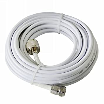 50 pies 15 m RG58/50ohm-3 Baja pérdida Cable Coaxial Cable ...