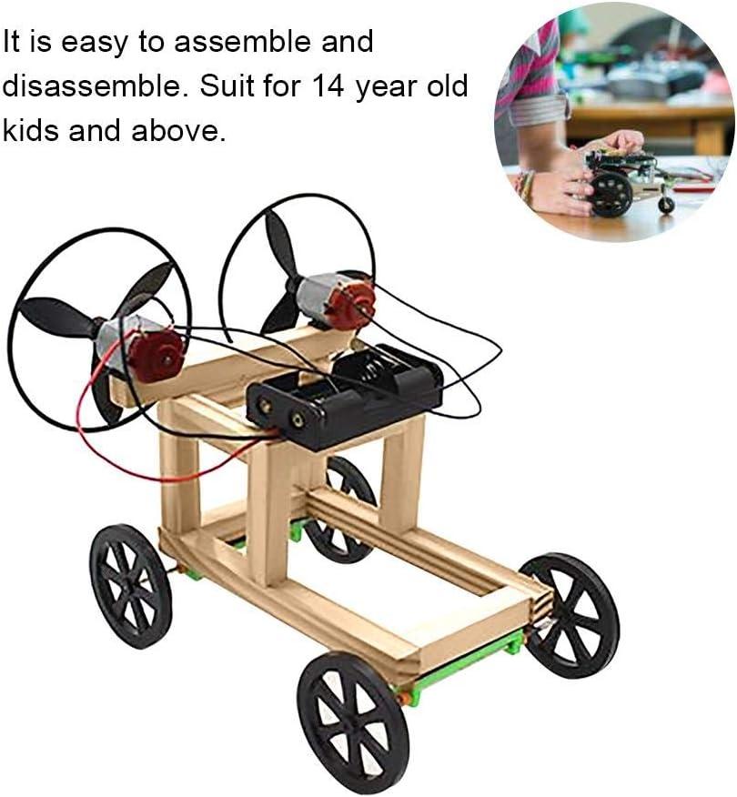 Wissenschaft Physik Experiment Pädagogisches Spielzeug DIY CD Auto
