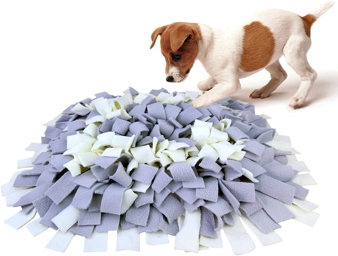AK KYC Snuffle Mat for Dogs, Dog Feeding Mat, Dog Puzzle Enrichment Toys, Nosework Slow Feeding Training, Encourages Natural Foraging Skills, Perfect for Any Breed Stress Relief