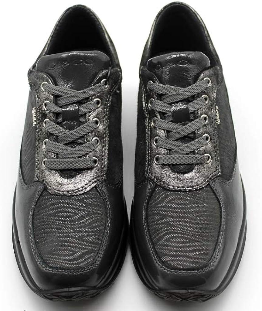IGIeCO 4144311 Antracite Sneakers Scarpe Donna Calzature Casual Antracite