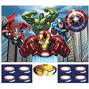 79eecc71c Amazon.com: Avengers Party Game, Party Favor: Kitchen & Dining