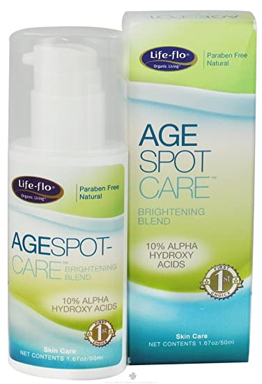 Age Spot Care Life Flo Health Products 1.67 oz Cream 3 Pack - Lancome Galateis Douceur Gentle Softening Cleansing Fluid Face & Eyes 13.5 oz