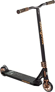 Mongoose Rise Youth and Adult Freestyle Kick Scooter, High Impact 110mm Wheels, Bike-Style Grips, Lightweight Alloy Deck, Multiple Colors