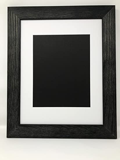 Amazon 18x24 175 Rustic Black Solid Wood Picture Frame With