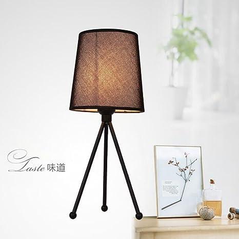 lámpara de cabecera del dormitorio de la lámpara de mesa de ...