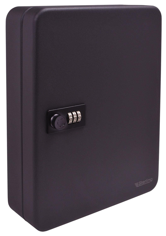 Burgwachter KC 20 C Key case Negro - Funda (Key case, Negro, Rectá ngulo, 160 mm, 200 mm) Rectángulo KC20C
