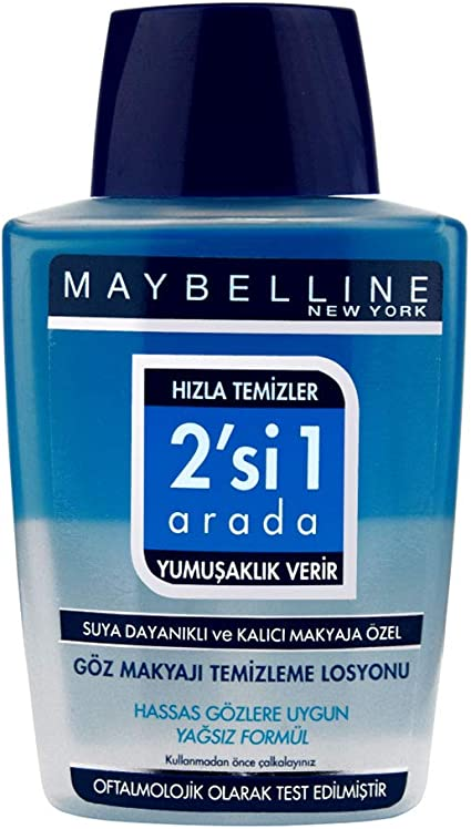 Maybelline New York 2en1 Eye Make Up Desmaquillante - 125 ml ...