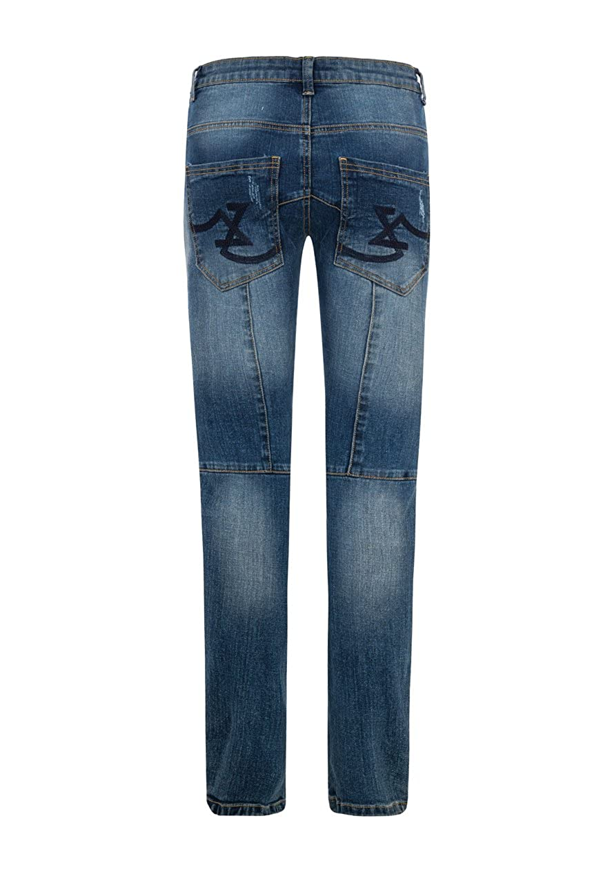 Million-X Boys Jeans Knee Cut