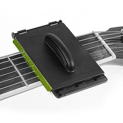 elecguru limpiador de cuerdas para guitarra gamuza de limpieza suave Herramienta Verde