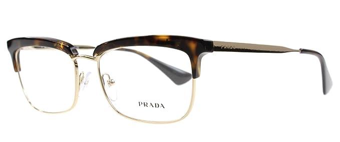 7513f3d1678a Prada Women s 08s Tortoise Frame Plastic Eyeglasses