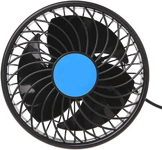 Ssltdm Nuevo Ventilador De Coche Eléctrico 12 V Viento Fuerte Bajo ...