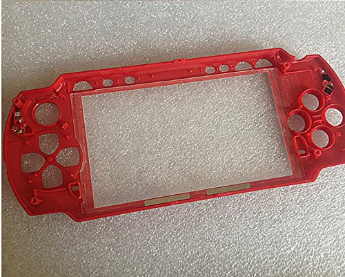 Limited Edition Mars Red Housing Shell Case Part for Sony PSP 2000 PSP2000
