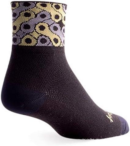 "Socks Sockguy Tuck L//XL Cycling//Running Classic 3/"""