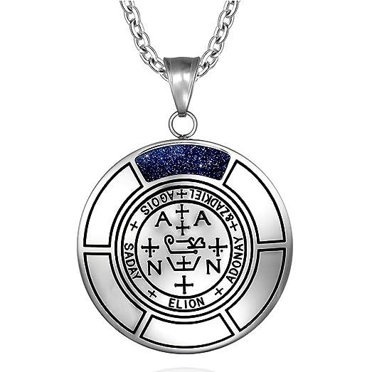 Amazon Sigil Of Archangel Zadkiel Magic Medallion Angel Amulet