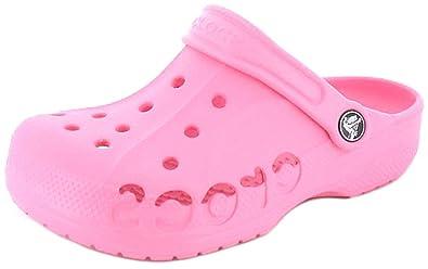 923673c18ed40d New Girls Childrens Pink Crocs. Dual Sizes