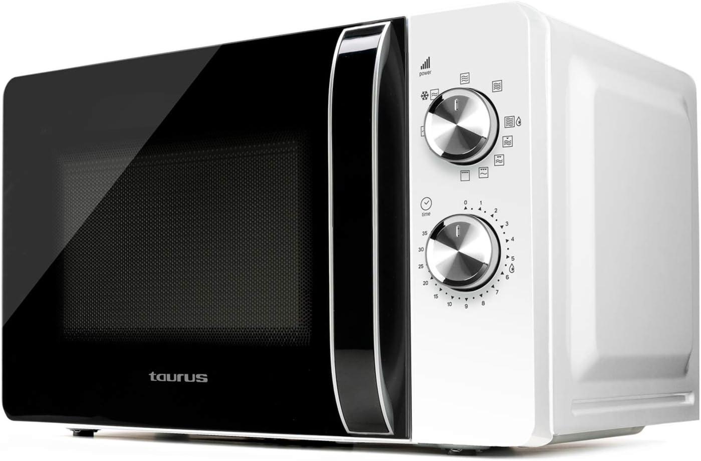 Taurus–Microondas Fastwave 25L Digital con grill. ModoECO. 900W ...
