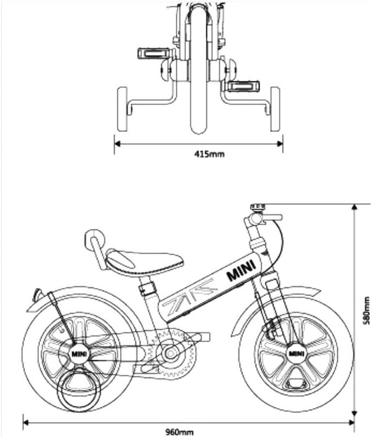 Bicicleta de Bicicleta de Bicicleta para niños, Bicicleta de ...