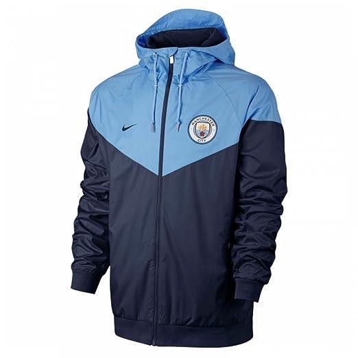 5e7f7d6ad79 Amazon.com  Nike 2017-2018 Man City Authentic Windrunner Jacket ...