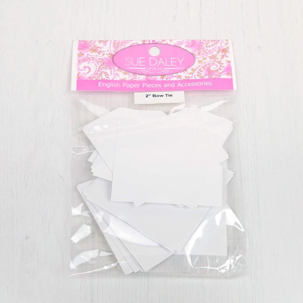 Sue Daley Designs Pajarita de papel con diseño de patchwork con ...